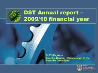 DST Annual report – 2009/10 financial year