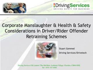 Stuart Gemmel Driving Services/Drivetech