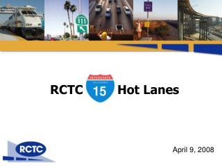 RCTC I-15 Hot Lanes