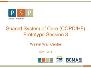 Shared System of Care (COPD/HF) Prototype Session 3