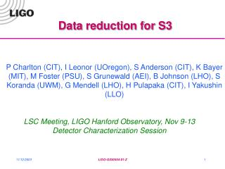 Data reduction for S3