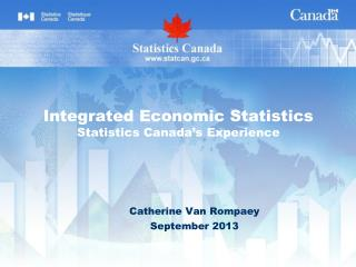Integrated Economic Statistics Statistics Canada's Experience