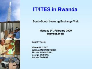 IT/ITES in Rwanda