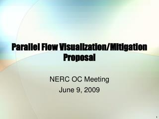 Parallel Flow Visualization/Mitigation Proposal