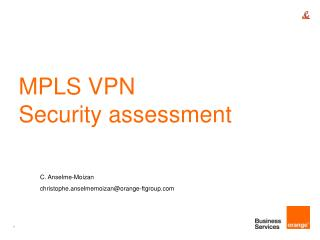 MPLS VPN Security assessment