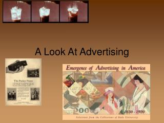 A Look At Advertising