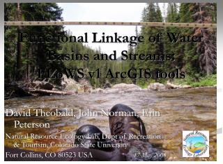 Functional Linkage of Water Basins and Streams:  FLoWS v1 ArcGIS tools
