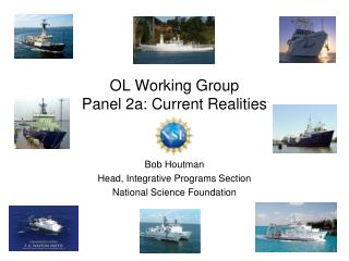 OL Working Group Panel 2a: Current Realities