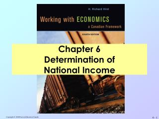 Chapter 6 Determination of  National Income