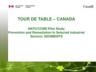 Presented by  Lisa Keller, P. Eng.  Environment Canada  June 20, 2007