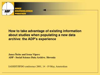 How to take advantage of existing information