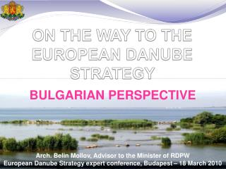 ON THE WAY TO THE EUROPEAN DANUBE STRATEGY