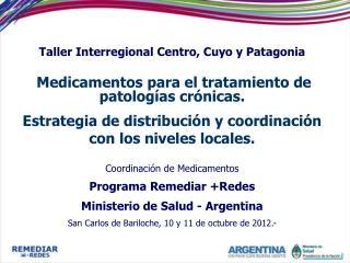 Taller Interregional Centro, Cuyo y Patagonia
