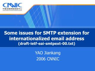 Some issues for SMTP extension for internationalized email address (draft-ietf-eai-smtpext-00.txt)