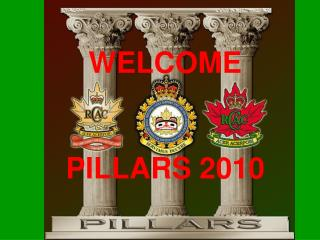 WELCOME PILLARS 2010