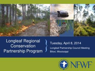Longleaf Regional Conservation Partnership Program