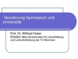 Verzahnung Gymnasium und Universität