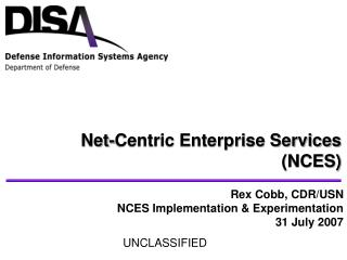 Net-Centric Enterprise Services (NCES)