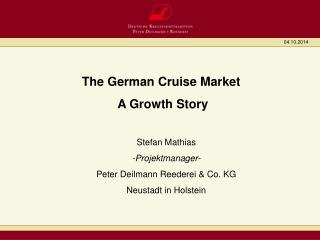 The German Cruise Market   A Growth Story
