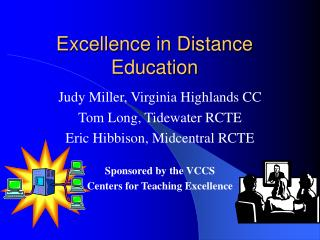 Excellence in Distance Education