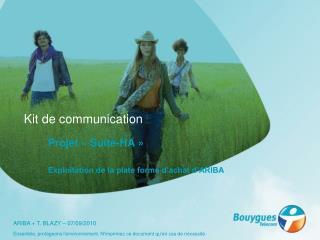 Kit de communication