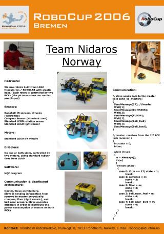 Team Nidaros  Norway