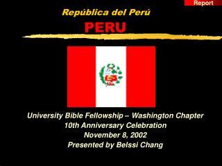 República del Perú PERU