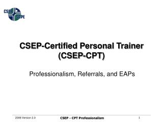Professionalism, Referrals, and EAPs