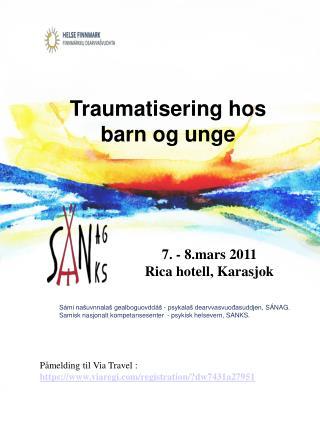 Traumatisering hos barn og unge
