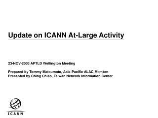 At Large Advisory Committee - ALAC