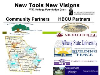 New Tools New Visions   W.K. Kellogg Foundation Grant