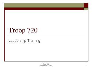 Troop 720