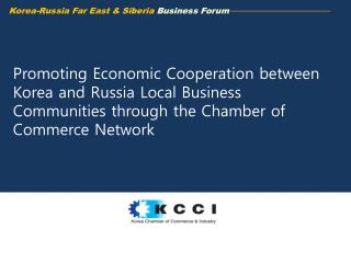 Korea-Russia Far East & Siberia  Business Forum