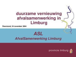 duurzame vernieuwing afvalsamenwerking in Limburg