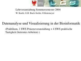 Lehrveranstaltung Sommersemester 2004