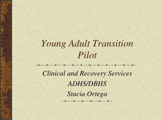 Young Adult Transition Pilot
