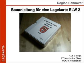 Bauanleitung für eine Lagekarte ELW 2