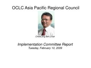 OCLC Asia Pacific Regional Council