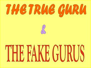 THE TRUE GURU