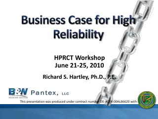 Business Case for High Reliability