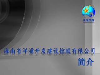 海南省洋浦开发建设控股 有限公司