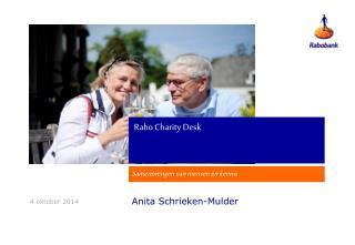 Rabo Charity Desk