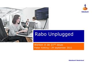 Rabo Unplugged