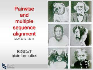 Pairwise  and multiple sequence alignment