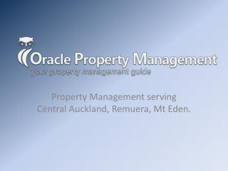 Oracle Property Management serving Central Auckland