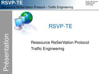 RSVP-TE