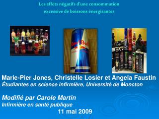 Marie-Pier Jones, Christelle Losier et Angela Faustin