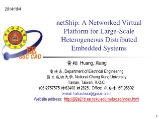 netShip: A Networked Virtual Platform for Large-Scale Heterogeneous Distributed Embedded Systems