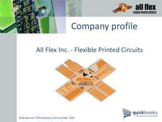 Quicktronics  PCB  Electronic Service GmbH   2009