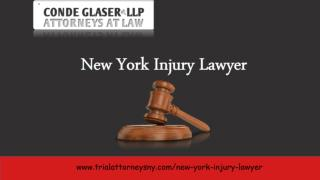New York Injury Lawyer